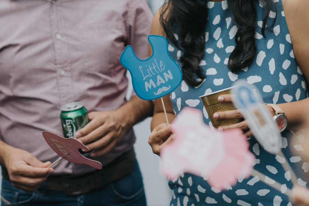 gender reveal party singapore photography event