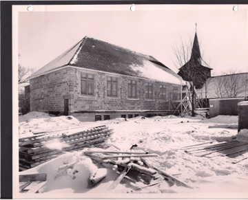 Construction of the parish hall