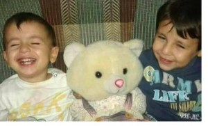 Aylan and Galib Kurdi who with their mother, Rehan, drowned while trying to escape Syria