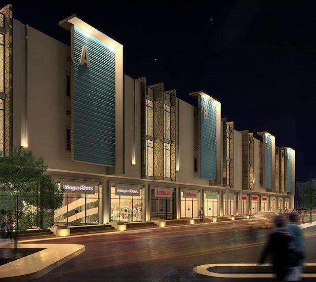 Our Latest Design. Mix Use Building In Jizan #saudi #architecture #design #