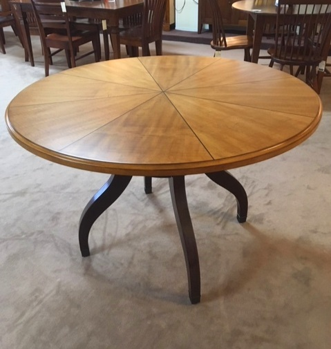 Hooker Furniture Maple and Walnut Dining Table  Was: $1013   NOW: $795