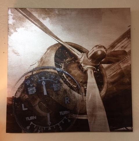 Vintage Airplane Print  Was: $93   NOW: $59