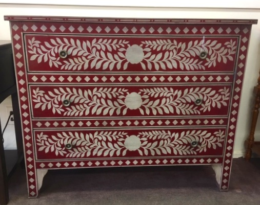 Hand Painted Accent Chest  Was: $900   NOW: $549