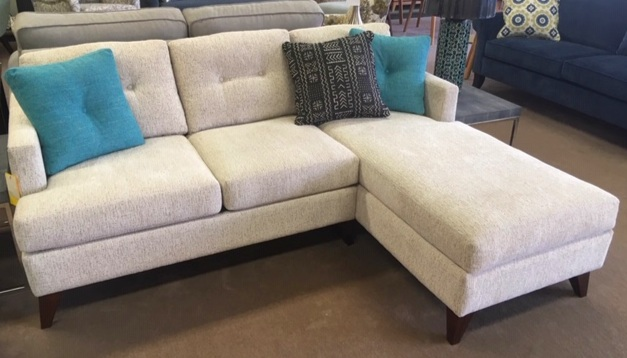 """Biltwell""""Dario"""" Sofa with Chaise  Was: $3037   NOW: $2395"""