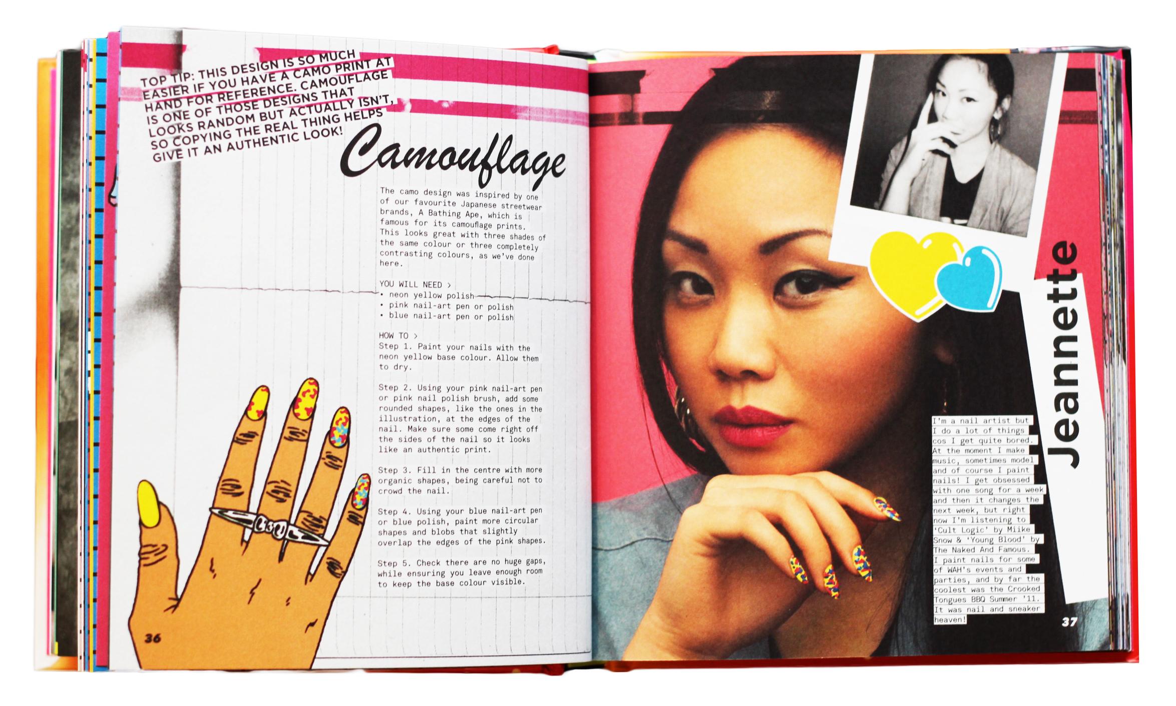 Colour book edges - Nails Forever