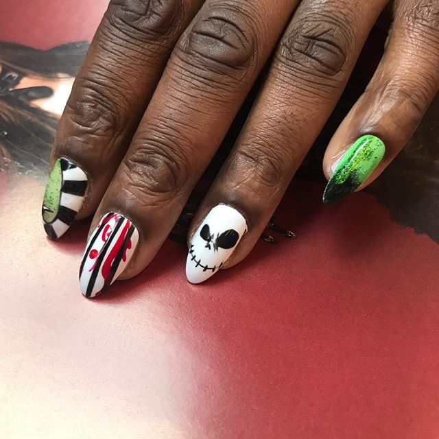 Lovin this freaky mix and match by our gurl @jaydeau! 🧟‍♀️🧟‍♀️🧟‍♀️ Follow the link in the bio to book in with her 📲📲📲