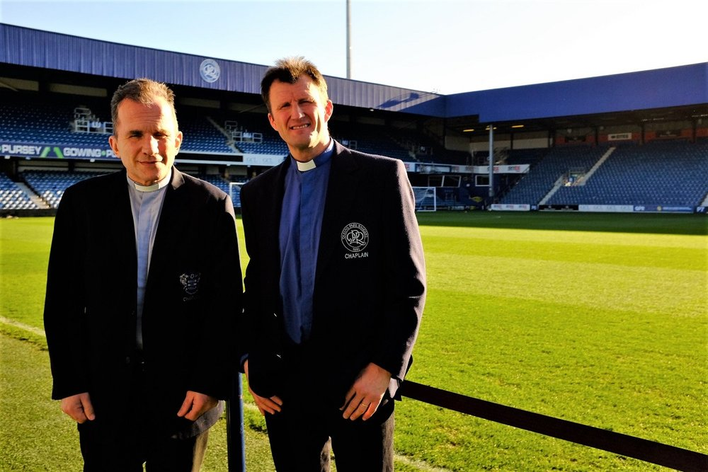 Recently retired Queens Park Rangers chaplains Bob Mayo and Cameron Collington have made it easy for lifelong fans to become eternal fans.