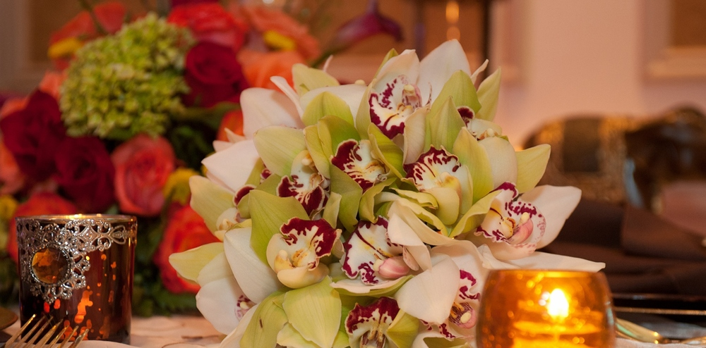 Wedding Orchid Bouquet