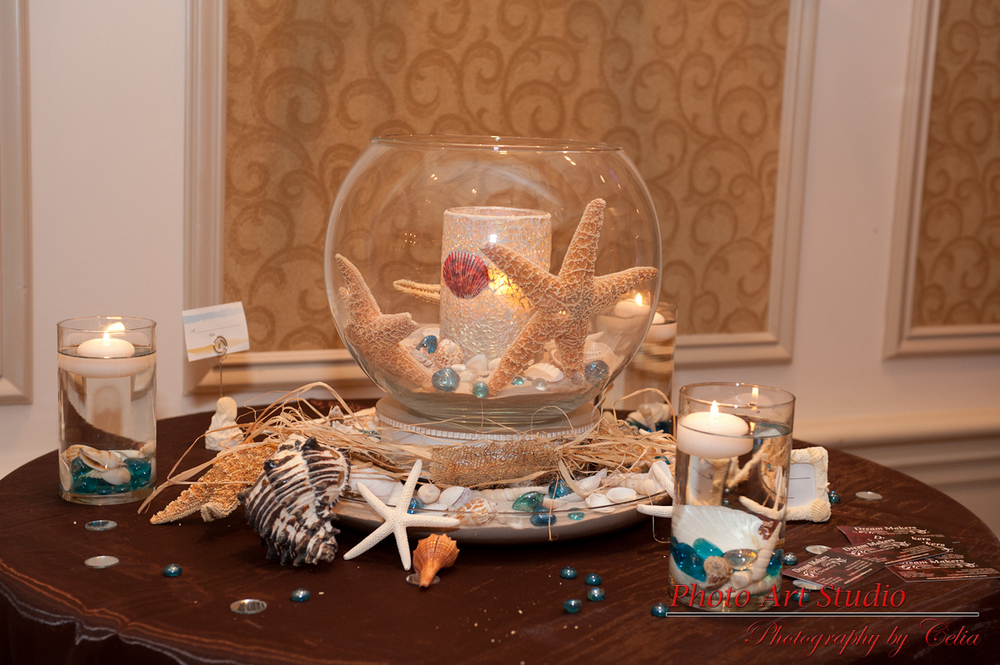 Wedding Beach Centerpiece