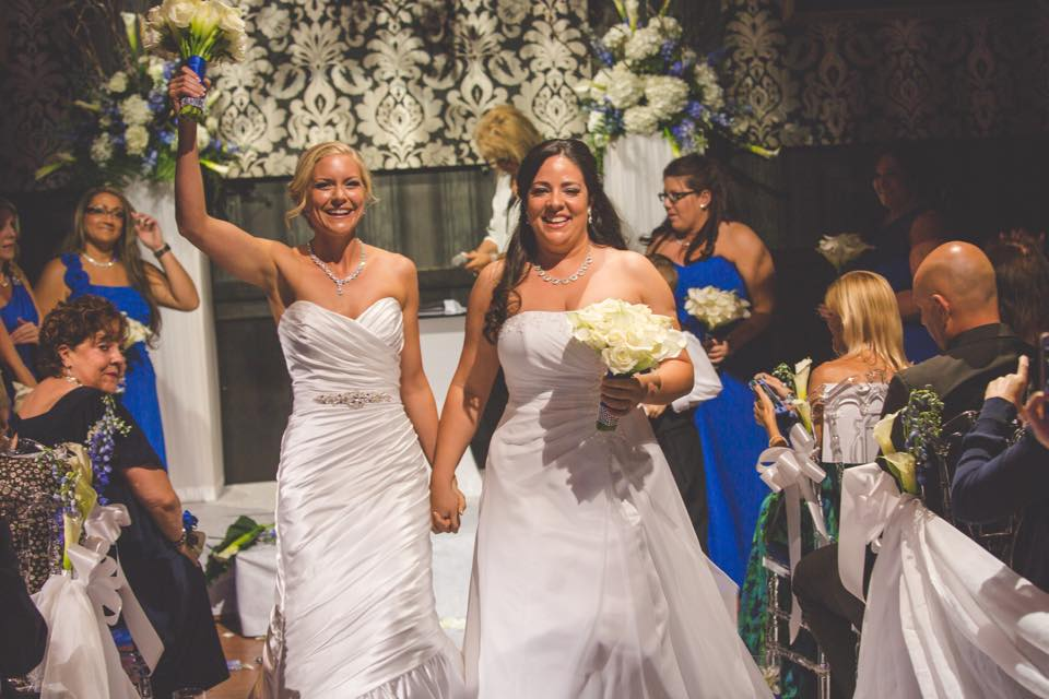 Palm beach county florist - Gay wedding, lesbian wedding
