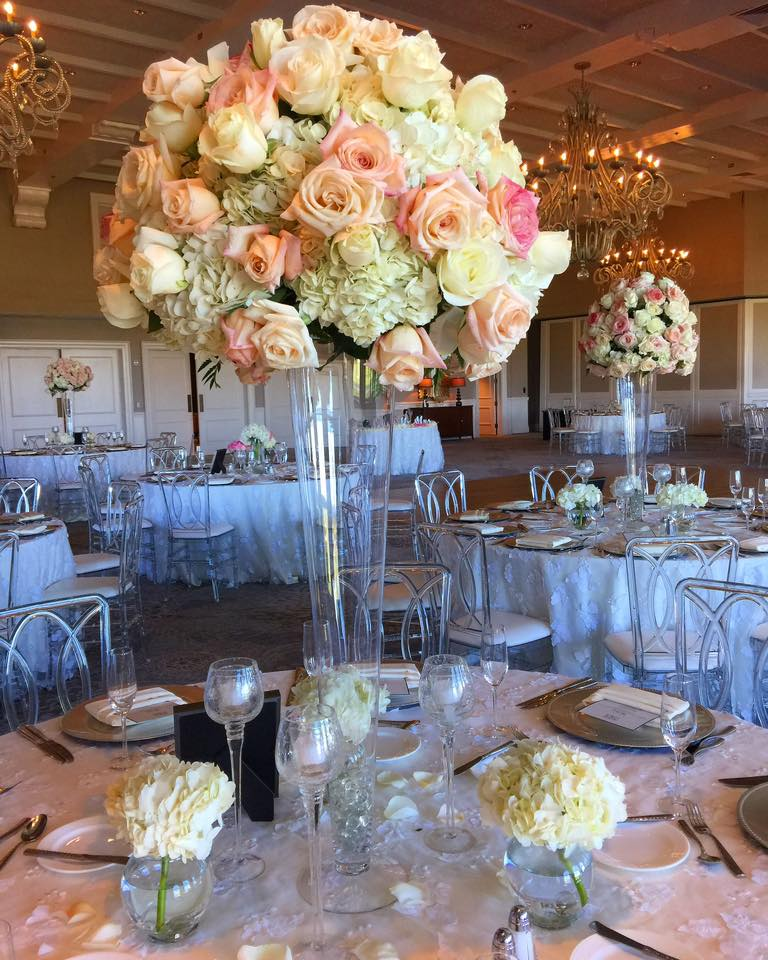 West Palm Beach wedding centerpiece