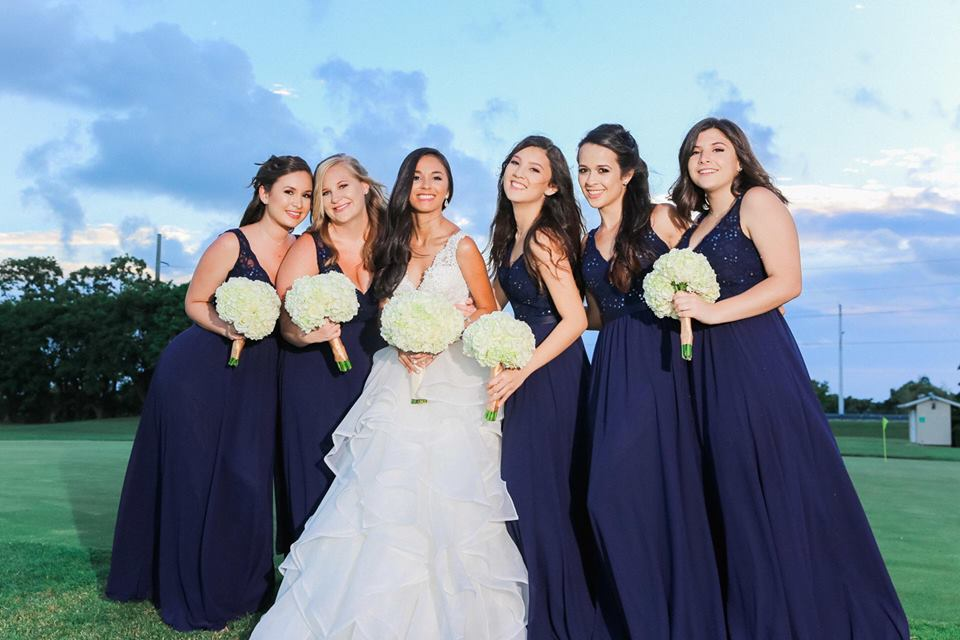 West Palm Beach Wedding Florist - Bridal Party Bouquet