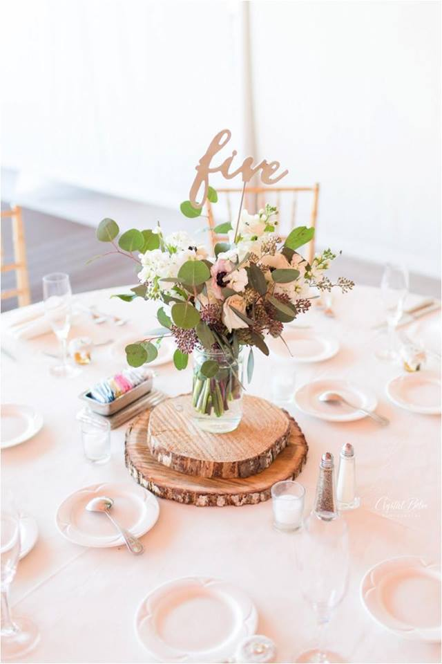 Palm beach county florist centerpiece