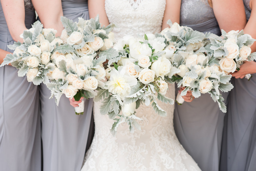 Palm beach county florist bridal party bouquets