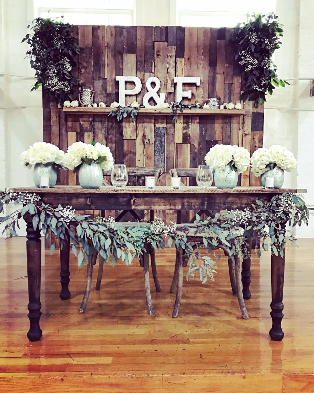 Palm beach county rustic wedding florist