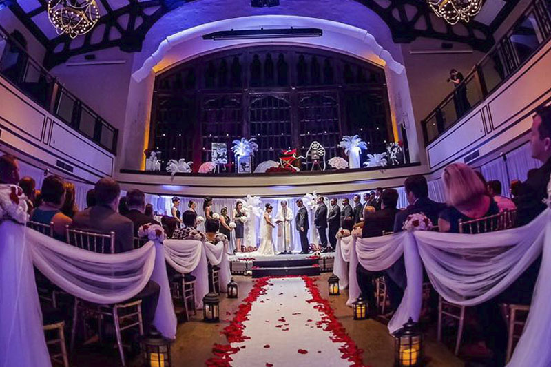 Harriett Himmel Theater West Palm Beach Wedding Florist