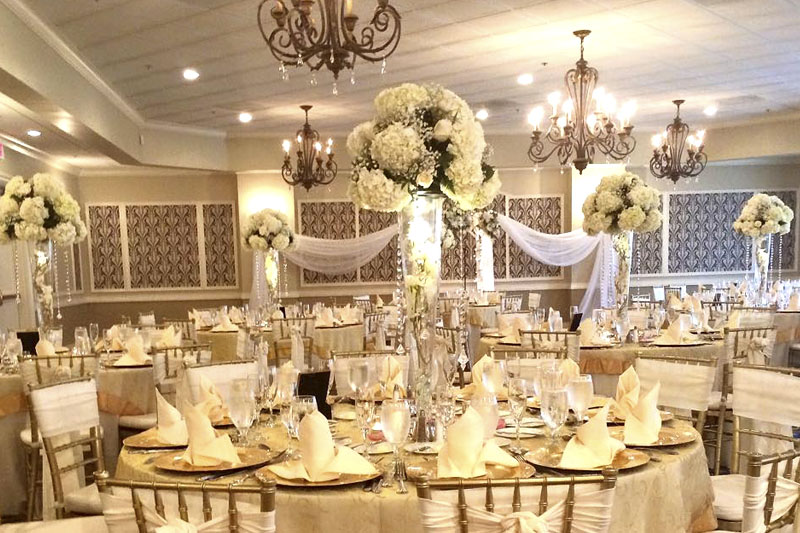 Westchester Country Club Wedding Florist