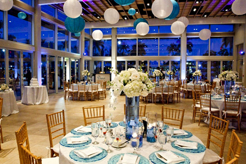 West Palm Beach Lake Pavilion Wedding Florist