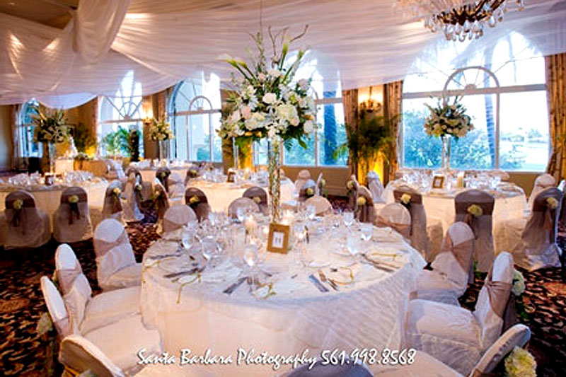 Wycliffe Golf and Country Club Wedding Florist
