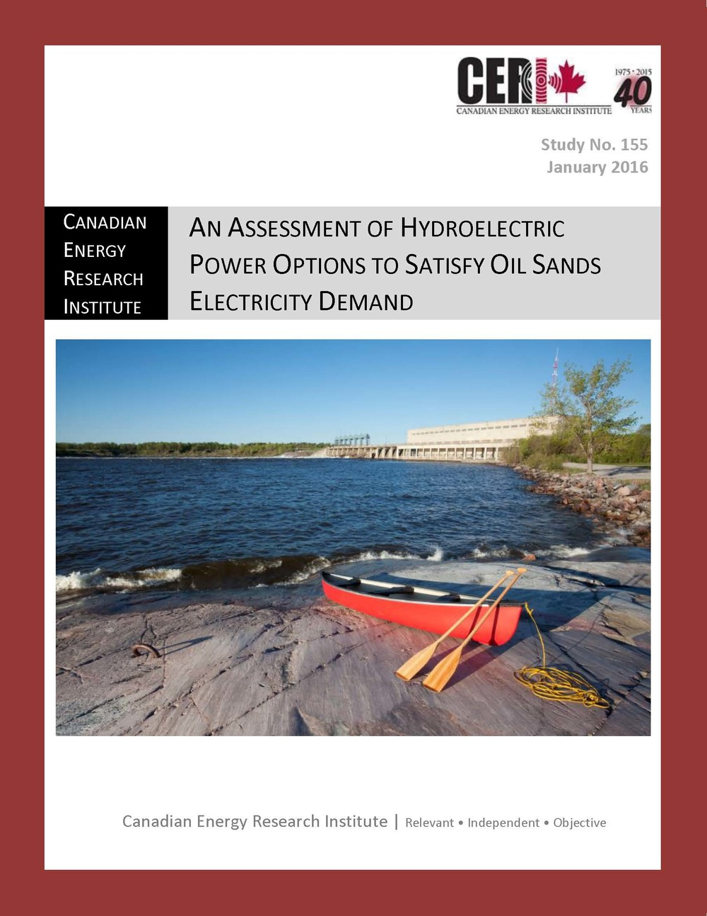 An Assessment of Hydroelectric Power Options to Satisfy Oil Sands Electricity Demand