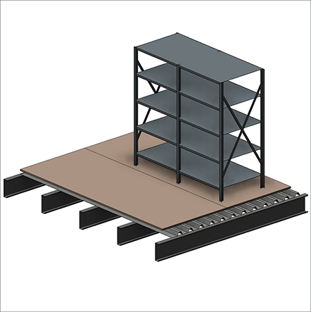 Mezzanine Point Load Design — Waymarc | Racking, Shelving ...