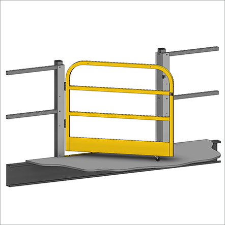 remote automatic gate product by swing control metal can rf