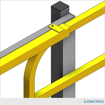 Mezzanine Sliding Gate Design Waymarc Racking