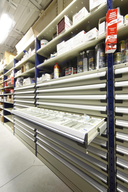 Drawers In Shelving Waymarc Racking Shelving