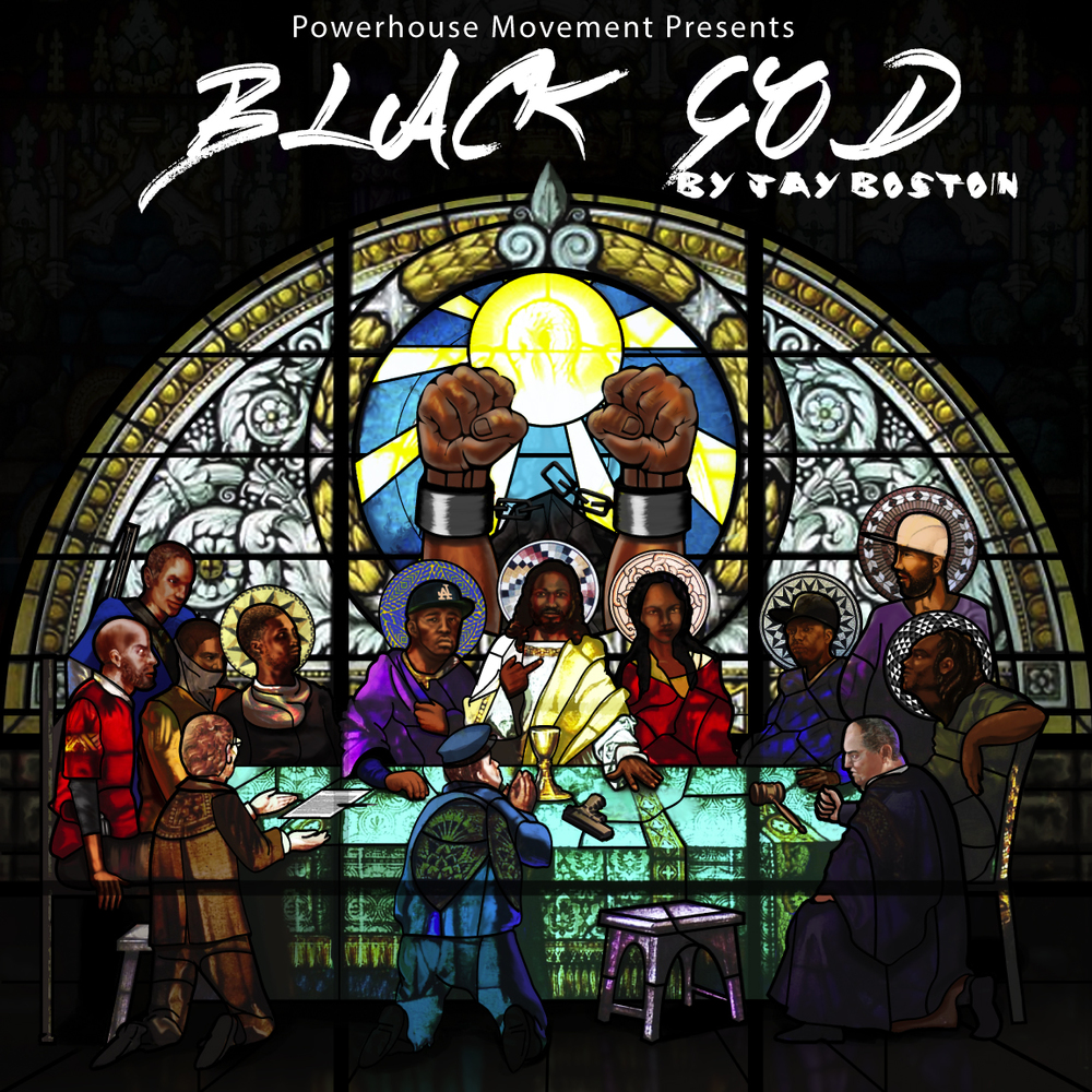 Black God Mixtape Cover Design