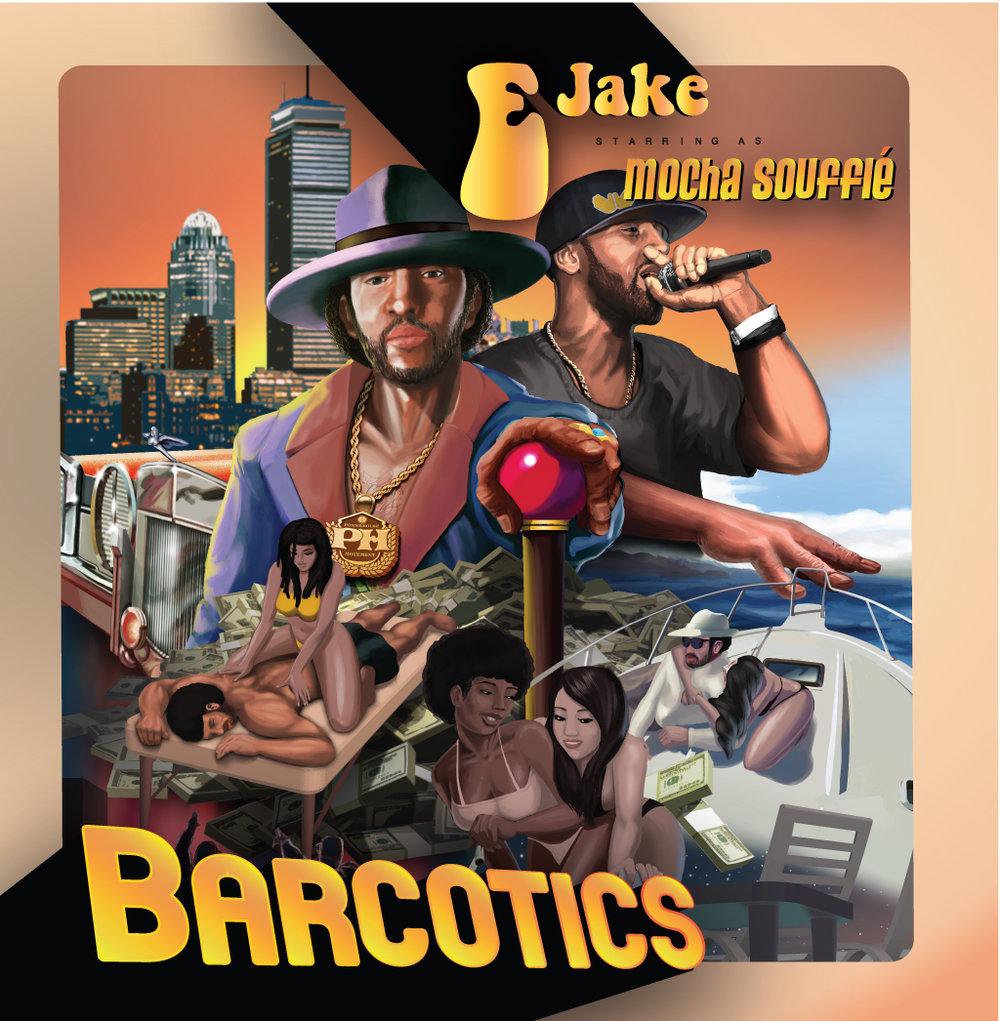 Barcotics Album Design