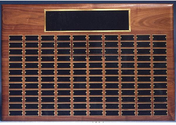 1506 perpetual roster plaque