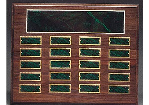 1502 perpetual roster plaque