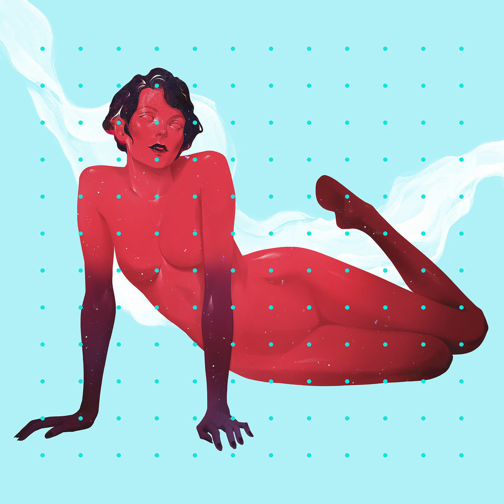 red female