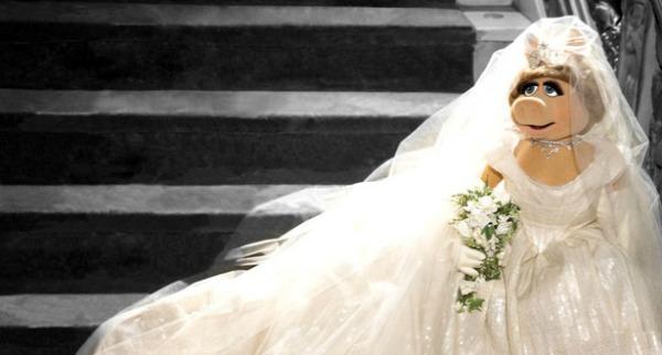 Miss Piggy wears Vivienne Westwood
