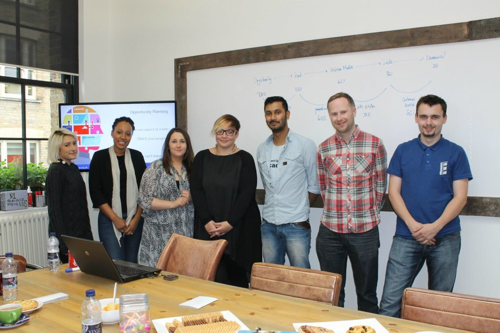 Hiscox entrepreneurship workshop
