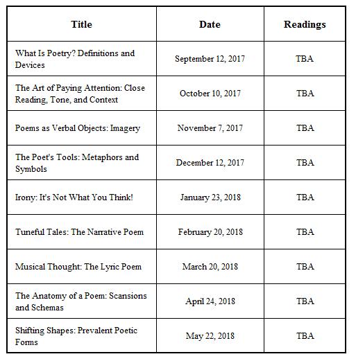 2017poetryschedule