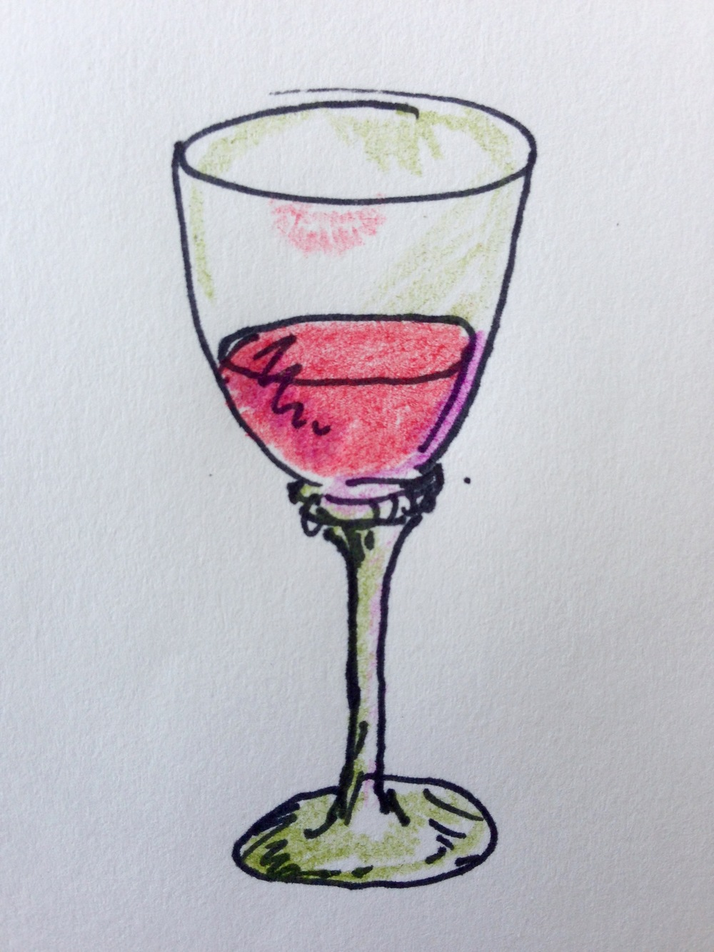 Bottoms up! Here's lookin' at you, kid!   Illustration by Heather Phillips