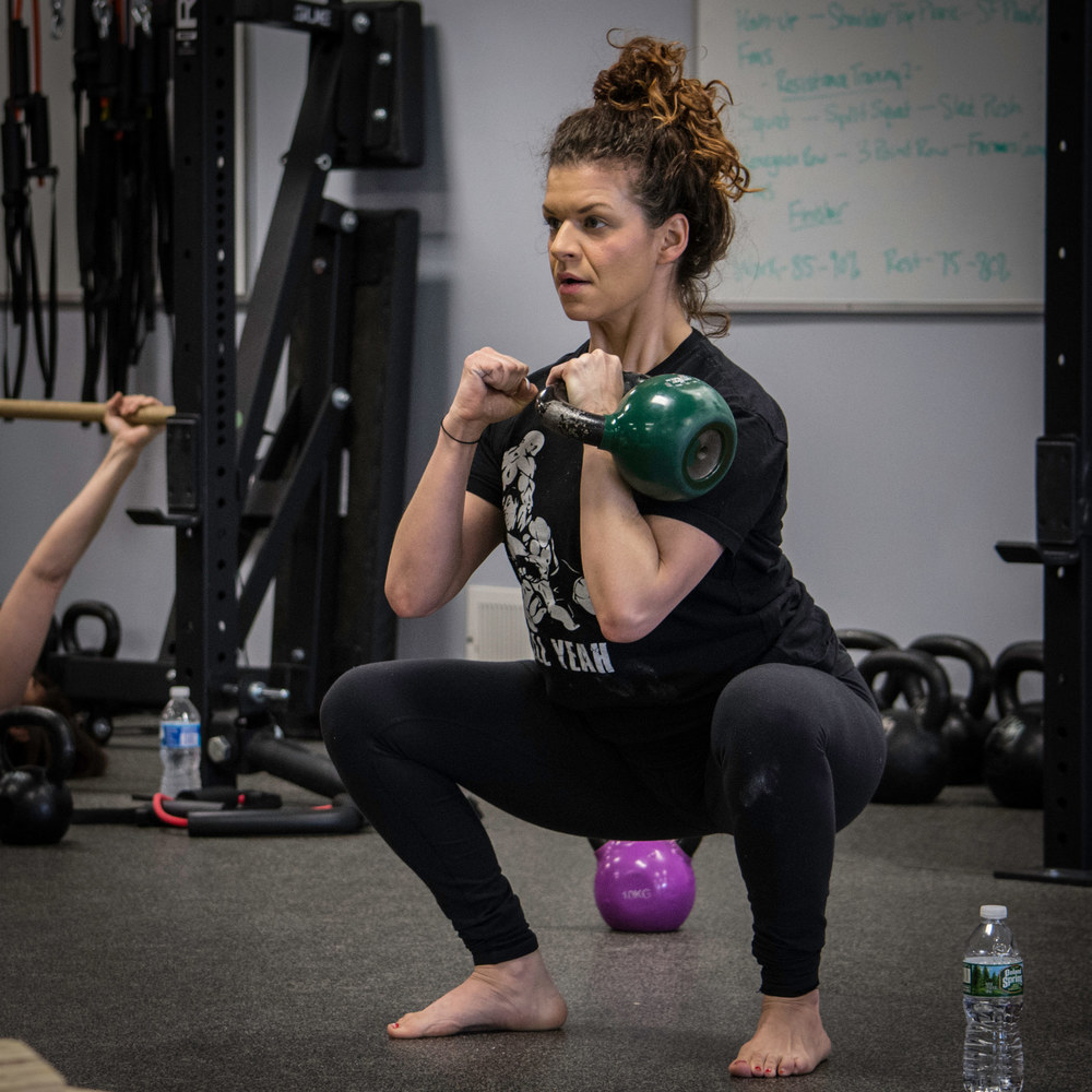 Rob Badstein is the Co-Owner of Results Driven Fitness. He is a Certified Personal Trainer through the National Academy of Sports Medicine (NASM-CPT), Functional Movement Screen certified (FMS), a Functional Range Conditioning Mobility Specialist (FRCms), and a StrongFirst Girevik (SFG, aka Kettlebell Lifter).