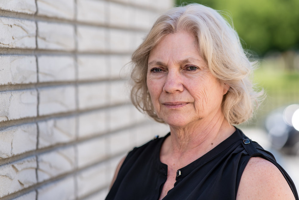"""""""When I started at RD, my circle of friends who were 62, 63, 64 were thinking about retirement. They were thinking about slowing down. They were thinking about getting old and they were starting to have problems. I was starting to have problems with my sugar, and exercise, I don't believe, occurred to any of us.  Exercise has allowed me to not get that old feeling inside. Yesterday, Ed showed me the photograph that he took of me, and I looked at it, and it's a nice photograph and it does looks like me, but in my mind it looks like my mom. In my mind, I don't look like that. I look like the person on my drivers license that's just about 30 years old. That's how I feel.  I don't feel like I have been aging. I get stronger all the time. I'm capable of doing more than I ever thought I could. I haven't slowed down. I still do a lot of gardening, I can paint, I can climb up and down ladders, I'm still installing window treatments. I don't know if I hadn't come, if I would have been able to do that.""""  —Violet T. of Newburgh, NY"""