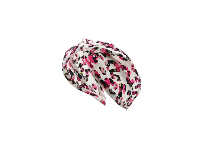 White and pink turban from EMIN AND PAUL - online  here