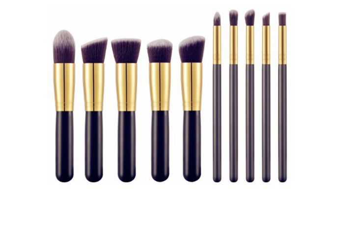 Synthetic Kabuki Makeup Brush Set from BS-MALL - online  here
