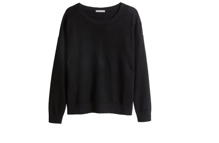 Cashmere knit from H&M - online  here