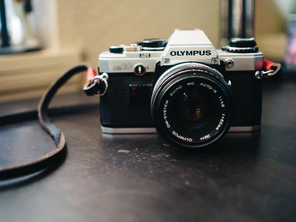 Classic Olympus OM10