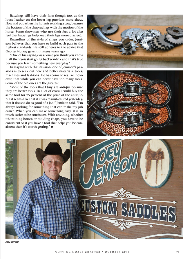 NCHA Chatter JJ Article Page 71.png
