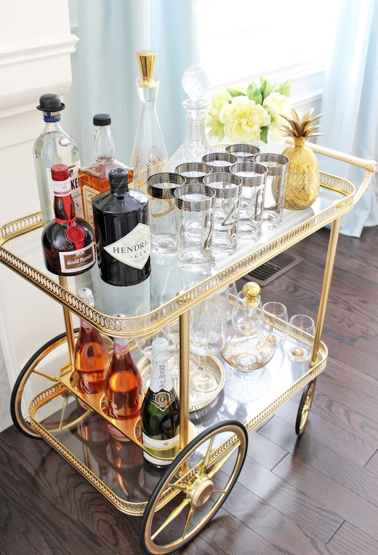 Vintage Bar Cart >> Vintage Bar Carts A Timeless Trend Liberate Your Palate