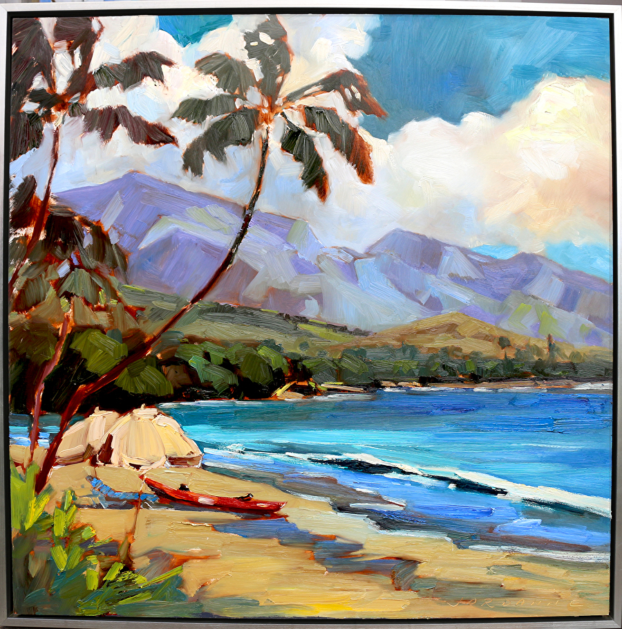 kaanapali-kayak 31x31x2 oil on panel 4250.jpg
