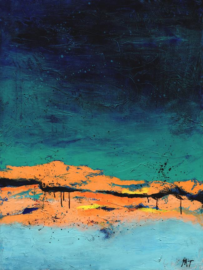 Dawn, 40x30