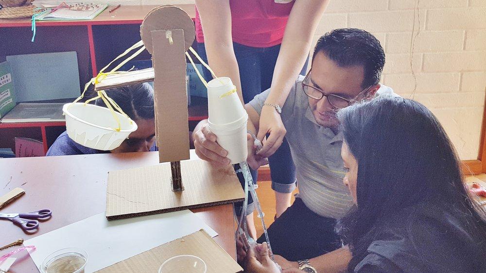 Participantes taller Proyectos Interdisiplinarios a través de la Tecnología - Colegio Británico, Agosto 2017 - Quito - Ecuador