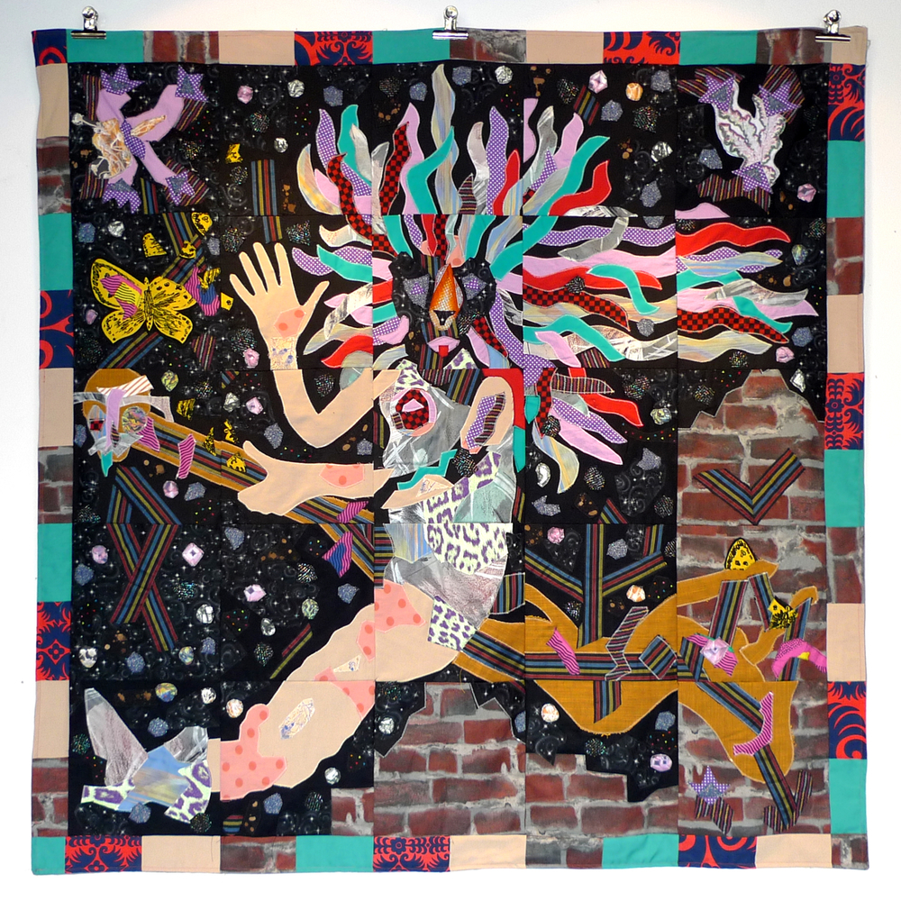 KY20 Celebration Flag, 160 cm x 160 cm, quilt, 2015