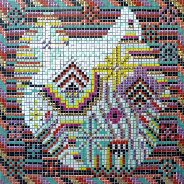 A Certain Mirror, 80 cm x 80cm, mosaic, 2015